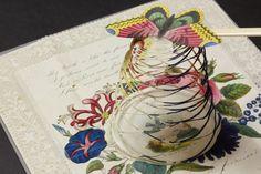 Flower-cage valentine (C) John Johnson Collection: Valentines 6 (11)