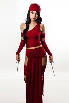 PIPOCA COM BACON - Top 10 Cosplay Feminino: Elektra – Marvel Comics - #cosplay #elektra #PipocaComBacon