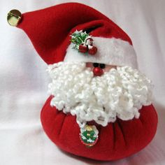 santa claus pillow project | fleece stuffed santa claus red jolly christmas product etsy