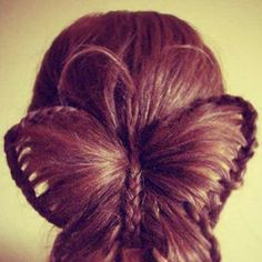 Butterfly braided hair Wow