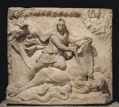 "Roman ""Mithras Sacrificing the Bull"""