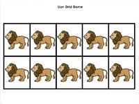 Lion Grid  Game