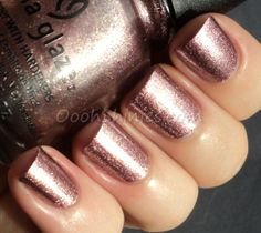 China Glaze Strike Up A Cosmo Essentialbeautyswatches Beautybay Nail Polish Trends