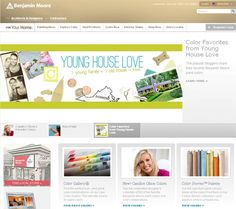 Young House Love Benjamin Moore paint color collections