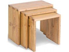 Vintage Pine Nest of Tables £196.00
