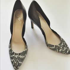 Vince Camuto Pumps Stylish pumps by Vince Camuto. Worn once. In great condition. Vince Camuto Shoes Heels