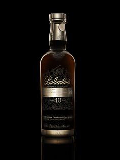 Ballantine's 40 Year Old  - only 100 bottles of this extremely rare whisky will be released globally each year ...