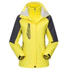 Outdoor Jacket Women Winter Breathable Quick Dry Waterproof Windproof  Windbreaker Ski Camping Hiking Travel Clothes Pullover 101e2c79b