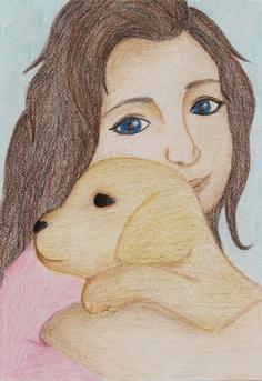 Angela Denton, Spanish Springs High School – Student Art Competition Winner, Renown Children's Hospital.