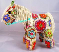 Granny horse crochet