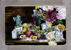 I was honoured to be a part of this beautful collaboration, with many sugar flower artist around the globe! The theme was Dutch Masters. As time was not on my side to make flowers, I made up my own modern still life reference at home, using bits. Food Artists, Flower Artists, Sugar Art, Sugar Flowers, Edible Art, Cake Art, Flower Making, Artist Art, Art Forms