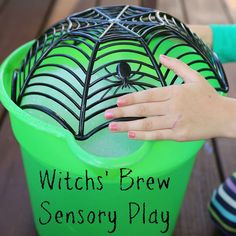 Still Playing School: Witch's Brew: Fall STEM Sensory Play for Kids