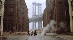 Once Upon a Time in America (1984) Dir: Sergio Leone PD: Carlo Simi