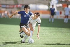 Retro Pictures, Retro Pics, Mexico 86, Diego Armando, Best Football Players, World Cup, Soccer, Running, Fitness