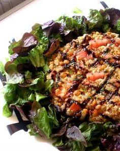 Pastel de quinoa y lentejas