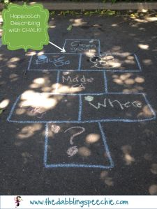 Ideas for using chalk in speech therapy! Perfect for spring speech therapy Speech Activities, Speech Pathology, Speech Language Pathology, Speech Therapy Activities, Language Activities, Speech And Language, Colourful Semantics, Speech And Hearing, Speech Room