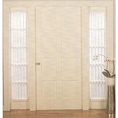 front door window curtain panels