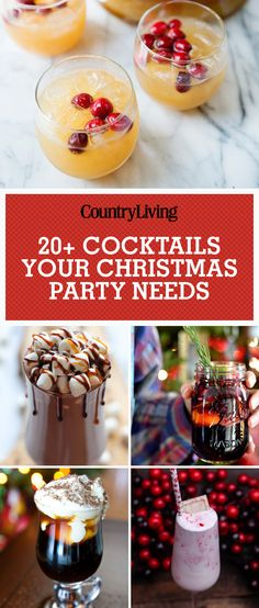 Eclectic Recipes How to Make a Christmas Coffee Cocktail for the