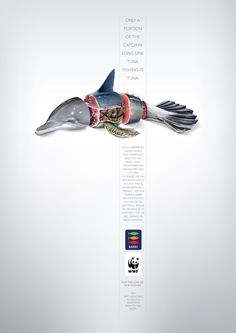 """WWF. For the love of our oceans.""""   Advertising Agency: Lowe Bull, Cape Town, South Africa"""