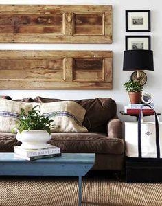 5 Quick Fixes: Repurposed Doors as Decor : Remodelista