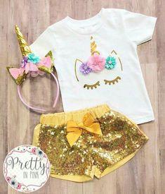 Unicorn Birthday Parties, Birthday Party Themes, 2nd Birthday, Bday Girl, Rainbow Unicorn, Kids Fashion, Girl Outfits, Birthdays, Clothes