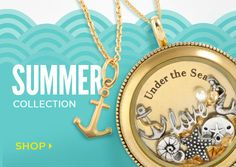 Summer Collection - Origami Owl Custom Jewelry... Let me help you design the perfect gift for someone special.