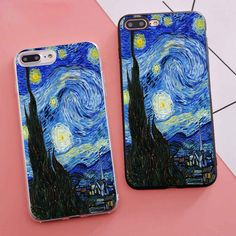 Anime Online Stores Merchandise - Naruto - Dragon Ball - Totoro - Accessoires -You can find Totoro and more on our website. Art Phone Cases, Diy Phone Case, Iphone Cases, Diy Case, Phone Covers, Arte Van Gogh, Van Gogh Art, Totoro, Iphone 8 Plus