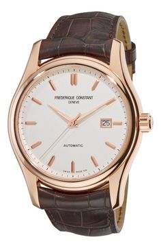 Men Watches : Gold watches men Frederique Constant