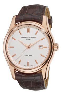 Men Watches : Gold watches men Frederique Constant