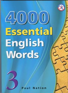 4000 Essential English Words is a six-book series that is designed to focuson practical high-frequency words to enhance the vocabulary of learnersfrom high beginning to advance levels. The series presents a variety ofwords that cover a large percentage of the words that can be found inmany spoken or written texts. Thus, after mastering these target words,learners will be able to fully understand vocabulary items when theyencounter them in written and spoken form. Each unit presents 20…
