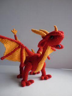 Friendly dragon Sharlotta unique interior toy by ToyMagic