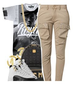 """Untitled #1240"" by lulu-foreva ❤ liked on Polyvore featuring MCM and Relish"