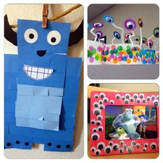 Monster party crafts