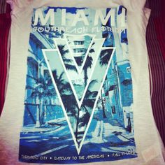 One of my new tops #miami #bitch