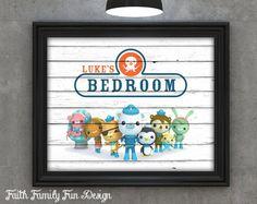 Octonauts Personalized Printable. Boys Nursery & Kid's Room Decor. Disney Junior Birthday Party. Barnacles. Kwazii. Peso. Dashi. JPEG