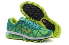 2013 New Nike Air Max 2011 Cyan Running Shoes - 2013 Nike Air Max 2011 Running Shoes