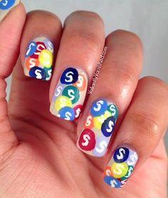 Valiantly Varnished: 31DC2014: Day 9 - Rainbow Nails