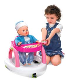 Another great find on #zulily! Infrared Remote Control Clever Baby Doll Walker #zulilyfinds