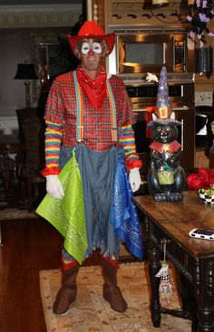 Image result for Homemade Costume Rodeo Clown Adults & My rodeo clown! DIY Kid Costumes | Costumes | Pinterest | Costumes ...