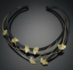 Ginkgo Necklace by Jaclyn Davidson