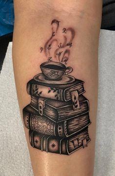 Tea Tattoo, Throat Tattoo, Book Tattoo, Cover Tattoo, Neck Tattoo For Guys, Tattoos For Guys, Tattoos For Women, Black Tattoos, Body Art Tattoos