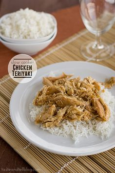 Slow Cooker Chicken Teriyaki | www.tasteandtellblog.com #recipe #chicken #slowcooker