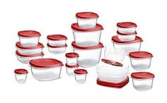 Rubbermaid 42-Piece Easy Find Lid Plastic Food Storage Set , New Free Shipping #Rubbermaid