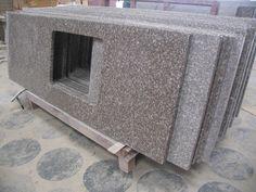Newstar supply pink stone G687 granite countertop China factory