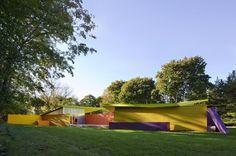 Maison Plastique, Shelter Island Pavilion by Stamberg Aferiat Architecture | HomeDSGN