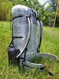 HOMEMADE ULTRALIGHT BACKPACK - Home made Ultralight Pack | Sew ...