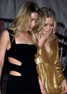 la modella mafia Model Street Style - Off Duty Mary Kate and Ashley Olsen fashion 4