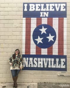 """Not only is Nashville home to Country Music and is nicknamed """"Music City"""", but it's also home to A LOT of amazing Wall Murals / Street Art. We recently visited Nashville, on the d… Nashville Downtown, Nashville Murals, Nashville Restaurants, Visit Nashville, Nashville Tennessee, Murals Street Art, Mural Art, Wall Murals, Wall Art"""