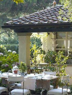 Check out window frame colour for garden house