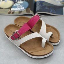 Nuevo 2015 babouche Cork birkenstock sandalias de mujer para mujer flip flops chica de los zapatos del deslizador cómodo fresco de verano sandalias de corcho(China (Mainland))
